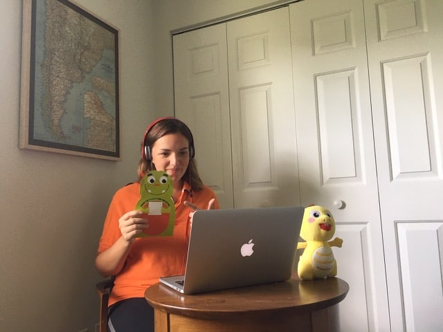 Teaching English online with VIPKID