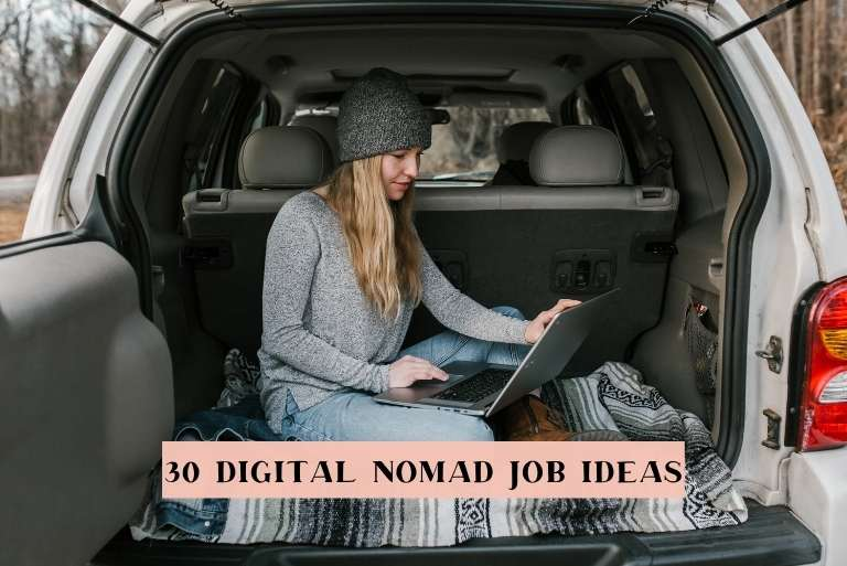 Best Digital Nomad Jobs Ideas