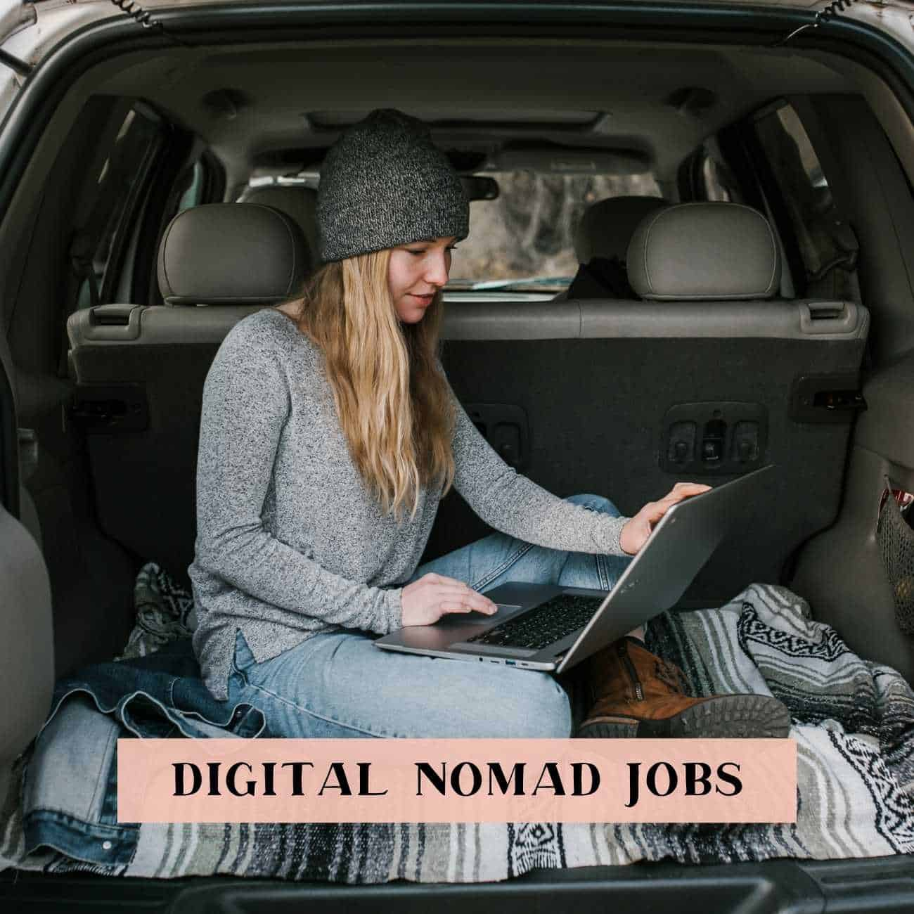 Remote jobs for digital nomads