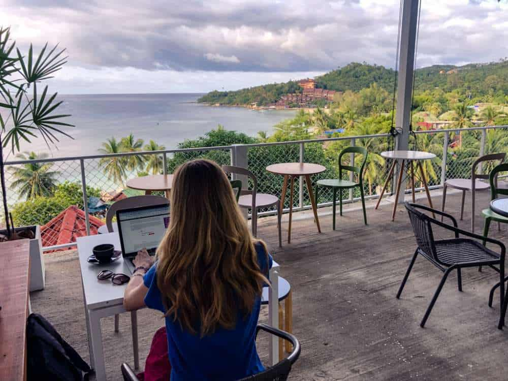 Working from anywhere in the world