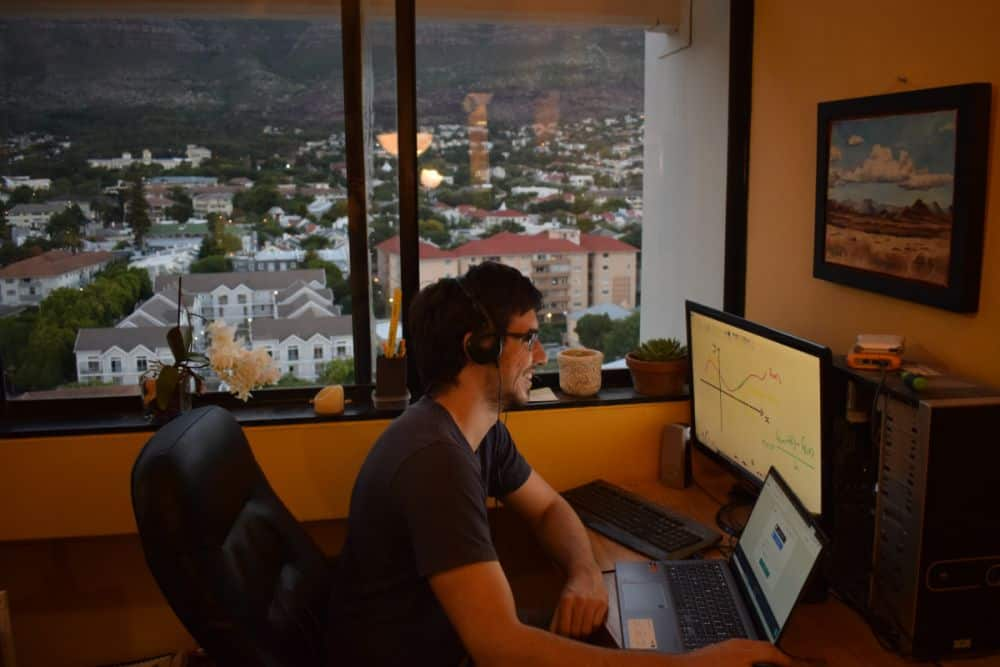 Tutoring online as a digital nomad