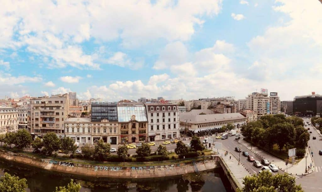 Bucharest city centre