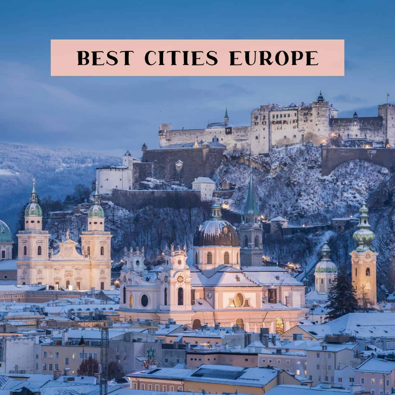 10 best cities Europe