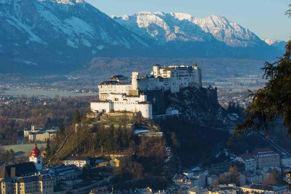 best cities in Europe - magical Salzburg