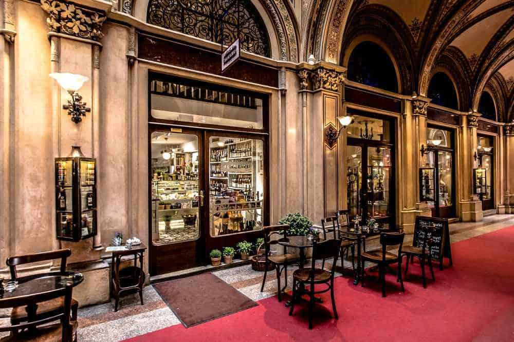 Cafes in Vienna
