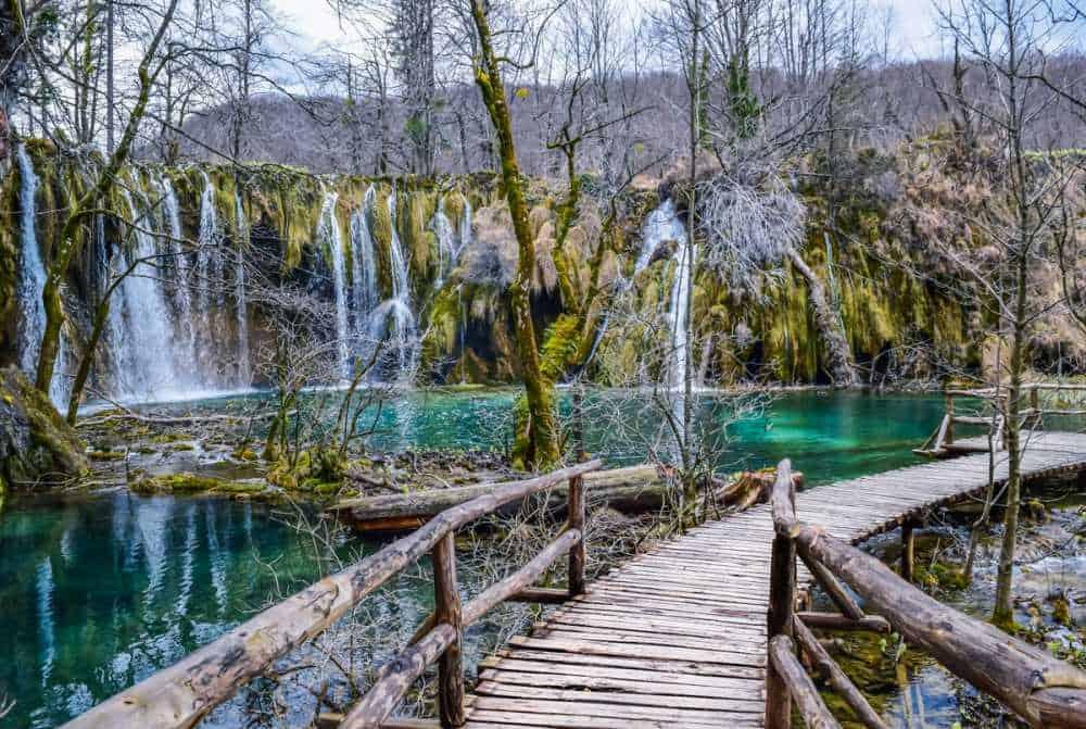 Plitvice Lakes National Park Upper Falls