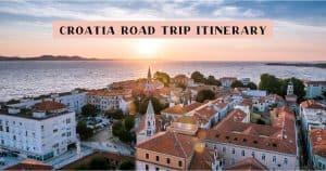 2 weeks in Croatia road trip