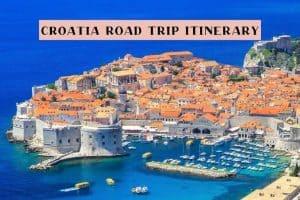 2 week itinerary for Croatia